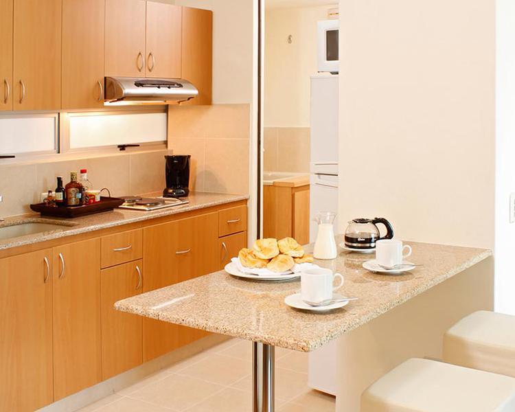 Kitchen ESTELAR Medellin Apartments Hotel Medellin